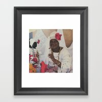 Woodoo Mama Framed Art Print