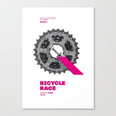 Bike to Life - BicycleRace Canvas Print