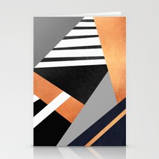 Geometric Combination V2 Stationery Cards