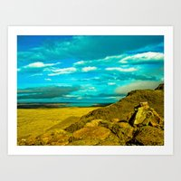 Wonderful Landscape. Art Print