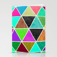 Geodesic 2 Stationery Cards