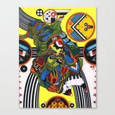 FUGAL MACK Canvas Print