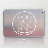 I. Music Fills The Infin… Laptop & iPad Skin