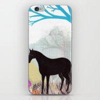 The Stillness Of Horses iPhone & iPod Skin