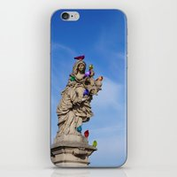 PIGEONS iPhone & iPod Skin