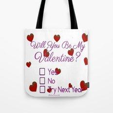 Valentines Love Tote Bag