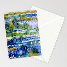 Splatter Ochre Stationery Cards