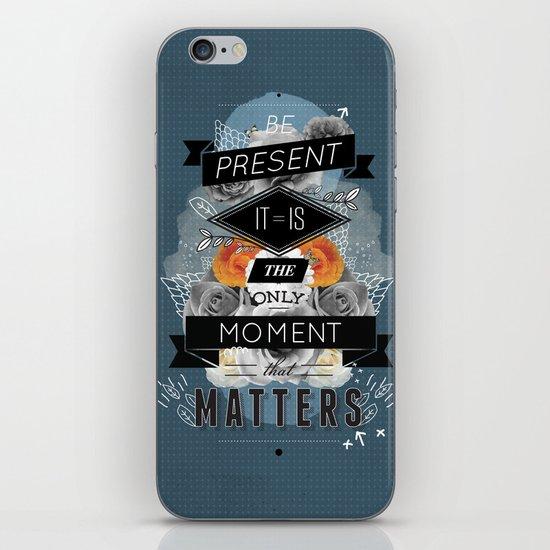 The Present iPhone & iPod Skin