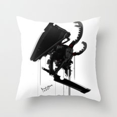 Pyramid Head Evolve Game Fanart Throw Pillow