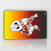 Psychobilly Bass Laptop & iPad Skin