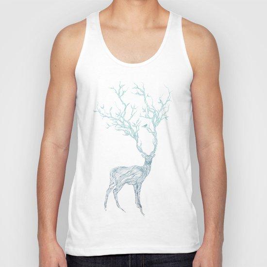 Blue Deer Unisex Tank Top