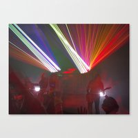 Light Show Canvas Print