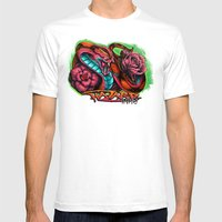 Rosy The Snake Mens Fitted Tee White SMALL