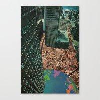 worlds in worlds Canvas Print