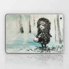 Hedgehog in the fog Laptop & iPad Skin