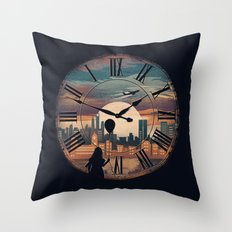 Right here waiting Throw Pillow