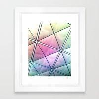 Rainbow Ricardo - Vivido Series Framed Art Print