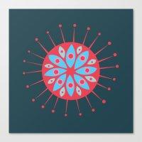 Radiolarian 7 Canvas Print