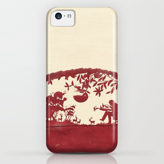 The Deer Maker iPhone & iPod Case