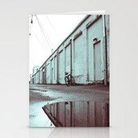 Neighborhood Alley Stationery Cards