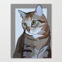 Sophie Cat Canvas Print
