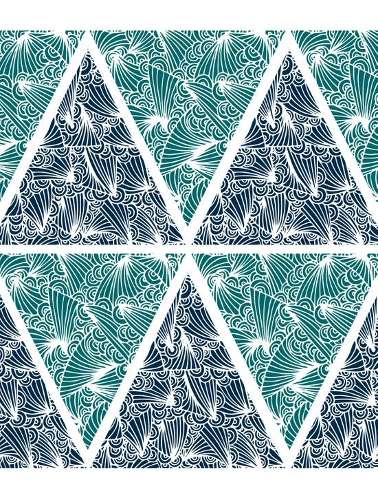 Geometric Paradise Canvas Print