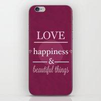 I Wish You ... iPhone & iPod Skin
