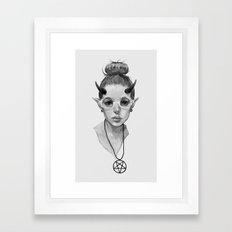 Monster Girl #3a Framed Art Print