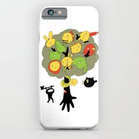 iPhone & iPod Case featuring The Ninja Assassin by W.H.Tham