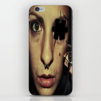 A piece of me iPhone & iPod Skin