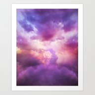 The Skies Are Painted (C… Art Print