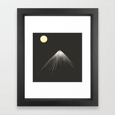 Mountains Peak ( Version… Framed Art Print