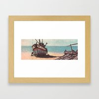 Shore Leave Framed Art Print