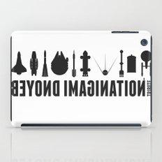 Beyond imagination: Millenium Falcon postage stamp  iPad Case