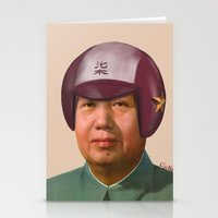 Helmet Mao Stationery Cards