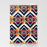 Hexagonic pattern Stationery Cards