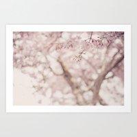 Pastel Sakura Art Print