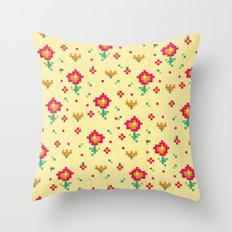 Pixel Throw Pillow