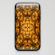 Golden Kaleidoscope iPhone & iPod Skin