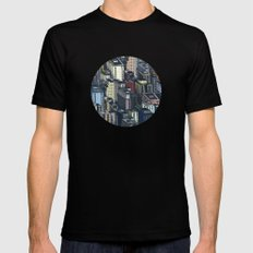 In the city Mens Fitted Tee Black SMALL