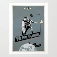 WeArePlural Art Print