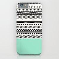 AZTEC AND MINT iPhone 6 Slim Case