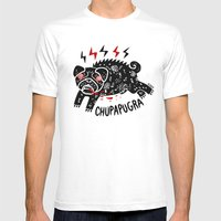 Chupapugra Mens Fitted Tee White SMALL