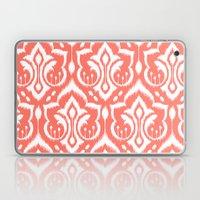 Ikat Damask Coral Laptop & iPad Skin
