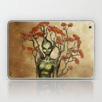 Crimson Dryad Laptop & iPad Skin