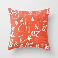 Ampersand Stories Throw Pillow