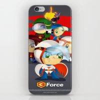 G force iPhone & iPod Skin