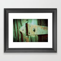 To Shame Framed Art Print
