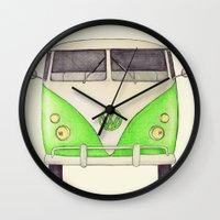 VW Type 2 Wall Clock
