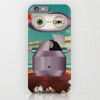 greetings from telencephalon iPhone 6 Slim Case